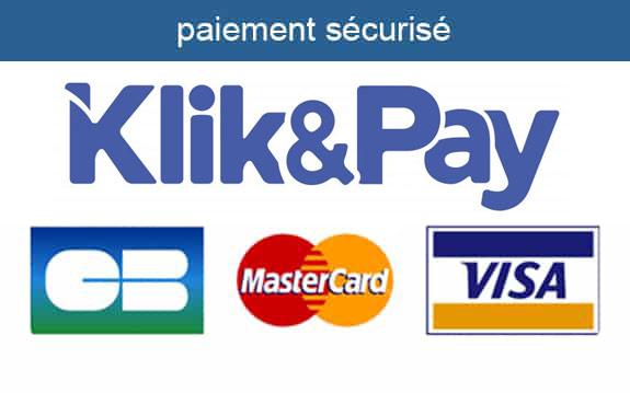 Paiement sécurisé Klik and Pay