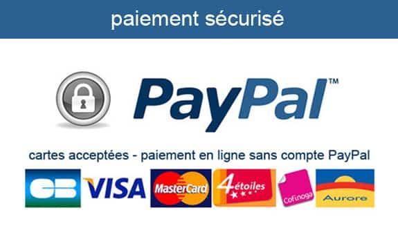 Paiement sécurié Paypal