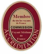 Accréditation Membre, Voyant médium de France